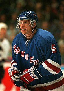 Ulf Samuelsson Swedish ice hockey player