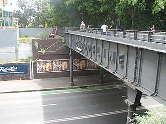 Ultimo Road railway underbridge - Ultimo Road railway underbridge