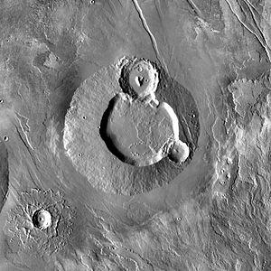 Ulysses Tholus - Image: Ulysses Tholus THEMIS day IR 100m v 11