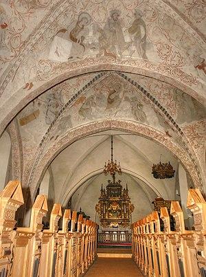 Undløse Church - Undløse Church, interior