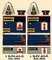 Uniformen des 1. Garde-Feldartillerie-Regiment, Uniformtafel.jpg