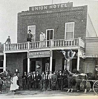 Dayton, Nevada - Union Hotel, Dayton, built in the early 1870's