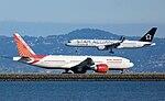 United Airlines, Boeing 757-224, N14120 - Air India, Boeing 777-237(LR), VT-ALG.jpg