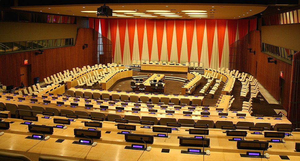 United Nations Economic and Social Council chamber New York City 2