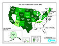 United States installed wind power capacity by state 2009.jpg