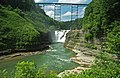 Upper Falls (Genesee Gorge, Letchworth State Park, New York State, USA) 2 (19939299648).jpg