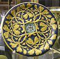 Urbino, piatto con rami di quercia a rilievo, 1542 ca..JPG