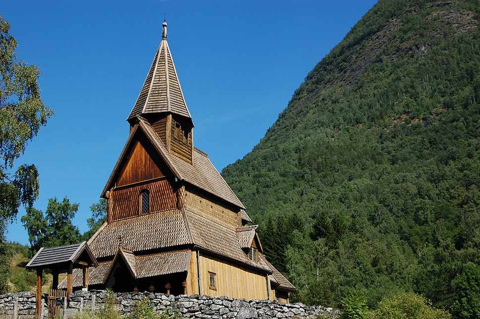 Urnes stave church 1