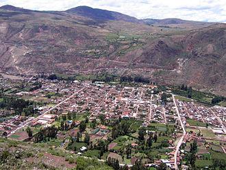 Urubamba, Peru - Image: Urubambatown