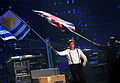 Uruguay and British Flags - Paul McCartney - ON THE RUN - Uruguay, 2012-04-16 (3).jpg