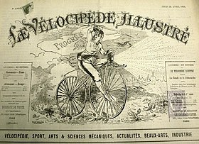 Image illustrative de l'article Le Vélocipède illustré