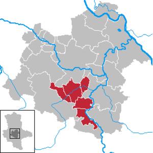 Saale-Wipper - VG Saale-Wipper in Saxony-Anhalt - District Salzlandkreis