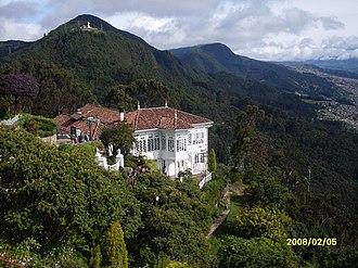 Guadalupe Hill - Image: VISTA CERRO DE GUADALUE MONSERRATE