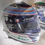 Valtteri Bottas 2015 helmet 2017 Museo Fernando Alonso.jpg