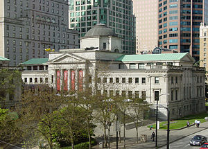 Vancouver Art Gallery - Image: Vancouver Art Gallery Robson Square from third floor