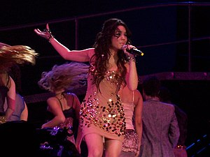 "Come Back to Me (Vanessa Hudgens song) - Hudgens performing ""Come Back to Me"" during High School Musical: The Concert"
