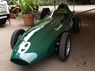 1958 Formula One season - Vanwall won the International Cup for Formula One Manufacturers