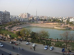 Vastrapur Lake - Image: Vastrapurlake