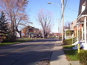 Vaudreuil-Dorion - Avenue Saint-Jean-Baptiste in Dorion
