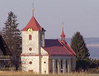 Velká Jesenice - kostel Nanebevzetí Panny Marie.JPG