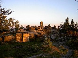 Velmerstot - Lippische Velmerstot and its memorial