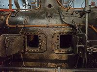 Verkehrsmuseum Dresden Schmalspur-Dampflok Pèchot-Bourdon Feuerbüchse VIII.jpg