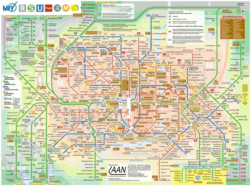 Verkehrsnetz München
