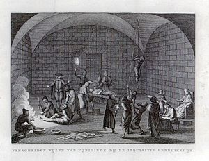 Messages modern inquisition torture useful