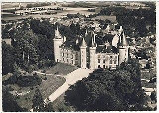 Château de Verteuil Castle in Nouvelle-Aquitaine, France