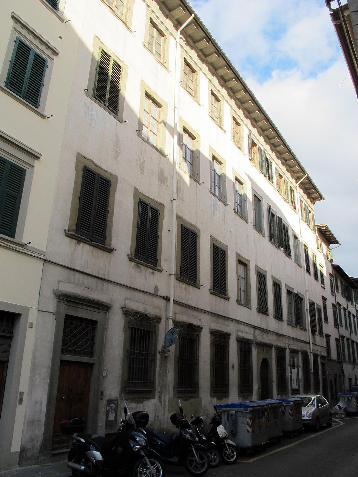 Palazzo pozzolini wikipedia for Palazzo a 4 piani
