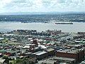 View from the top of the Anglican Cathedral Tower, Liverpool. - geograph.org.uk - 97933.jpg