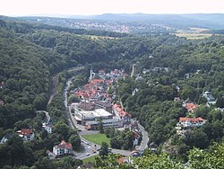 Eppstein seen from the Kaisertempel
