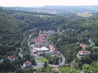 Eppstein - Eppstein seen from the Kaisertempel