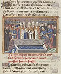 Vigiles de Charles VII, fol. 249, Funérailles de Charles VII.jpg