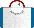 Vikivoyage lucido test icon Luggage compass.png