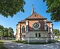 Villach Wilhelm-Hohenheim-Strasse Evangelische Pfarrkirche S-Ansicht 17082018 4099.jpg