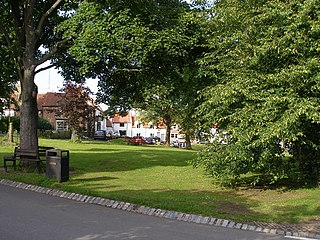 Egglescliffe Village and civil parish in County Durham, England