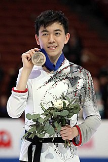Vincent Zhou American figure skater