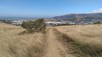 Philosopher's Way, San Francisco - Image: Visitacion Valley & Philosopher's Way, San Francisco