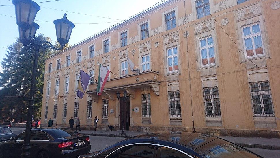 Visoko town hall 1