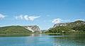 Visovacko jezero prema Roskome slapu 06082011 2.jpg