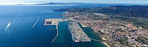 Puerto de la bahía de Algeciras