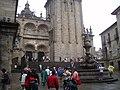 Vista de la Plaza de Platerías de Santiago de Compostela.JPG