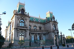 Chihuahua City - Quinta Gameros, a Porfirian-era mansion that now houses a museum.