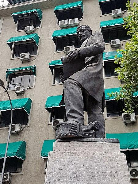 File:Vivaceta, Fermin estatua por Jose Carocca 20180115 fRF03.jpg