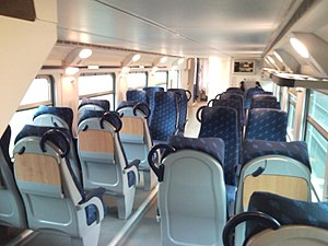 Trenitalia - Trenitalia regional train (interior)