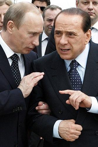 Vladimir Putin in Italy 17-18 April 2008-4