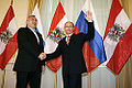 Vladimir Putin with Alfred Gusenbauer.jpg