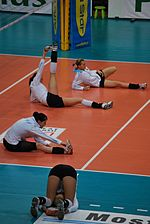 Volleyball match - warming up.jpg