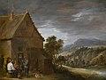 Voor de kroeg, David Teniers II, 17de eeuw, Koninklijk Museum voor Schone Kunsten Antwerpen, 345.jpg